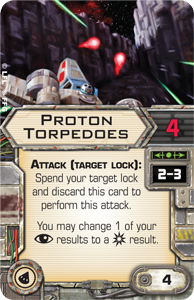 Proton-torpedoes