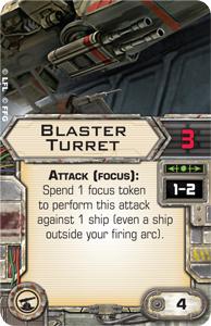 Blaster-turret